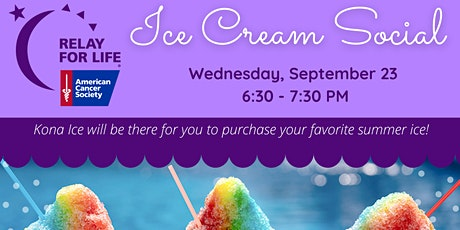 Relay For Life Committee Interest Ice Cream Social tickets