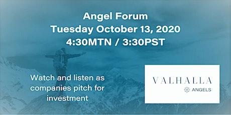 Valhalla Angels October Forum tickets