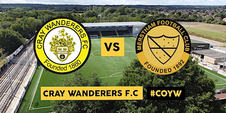 Cray Wanderers VS Merstham tickets