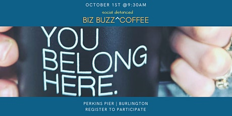 Womenpreneurs Biz Buzz Social Distanced Coffee tickets