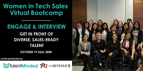 Women in Tech Sales Bootcamp October - EMPLOYER PARTNER PACKAGES tickets