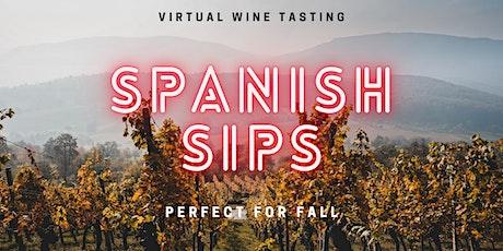 Spanish Sips For Fall | Virtual Tasting with Sommelier Kristin Francesco tickets