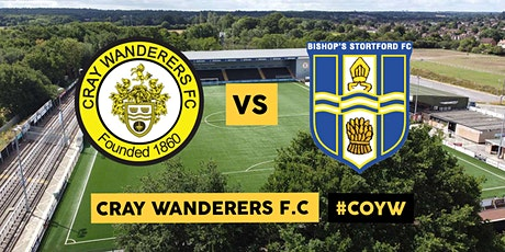 Cray Wanderers VS Bishops Stortford tickets