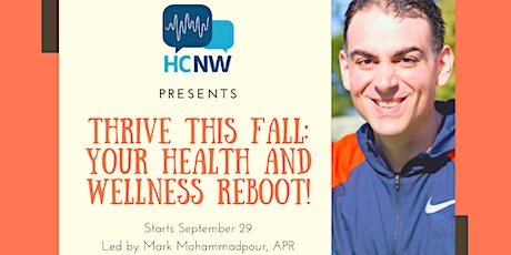 Sept. 29-Oct. 27 — Thrive This Fall: Your Health and Wellness Reboot! tickets