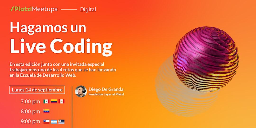 Anuncio de Desarrollo Web del 14 de septiembre a las 7 p. m.
