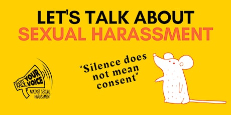 Lets talk about Sexual Harassment tickets