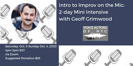 Intro to Improv on the Mic: 2-day Mini Intensive with Geoff Grimwood tickets