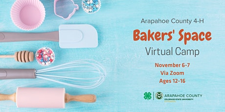 4-H Bakers' Space Virtual Camp tickets
