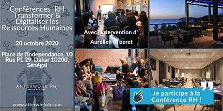 Conférences  RH : Transformer & Digitaliser les Ressources Humaines tickets