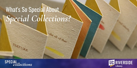 What's So Special About Special Collections? tickets