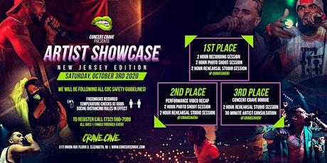 Concert Crave Artist Showcase - Elizabeth, NJ 10.3.20 tickets
