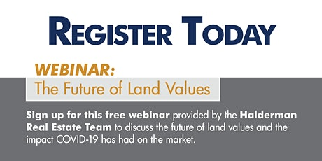Land Value Webinar 2020 tickets