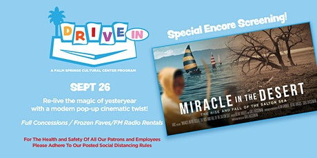 Encore Screening: MIRACLE IN THE DESERT tickets
