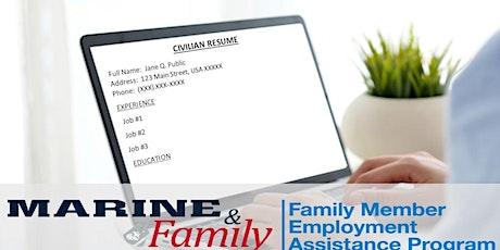 Webinar - Civilian Resume Writing tickets