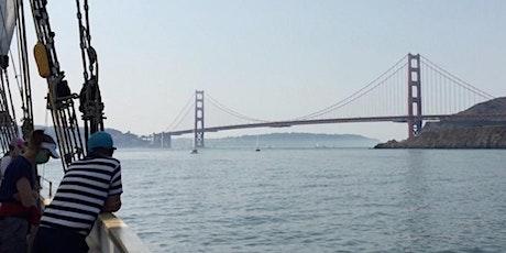 Golden Gate Sail aboard brigantine Matthew Turner tickets