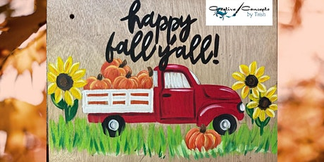 Happy Fall Y'all Truck Paint Night tickets