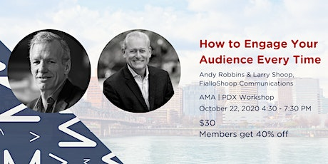 How to Engage Your Audience Every Time tickets