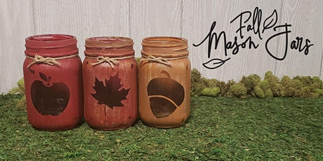 Painting Workshop: Fall Mason Jars tickets