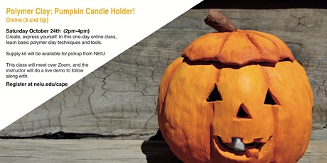 Make a Polymer Clay: Pumpkin Candle Holder tickets