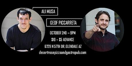 Ali Musa & Geof Piccarreta - Desert Rose w/ Rose Verdugo -downtown Glendale tickets