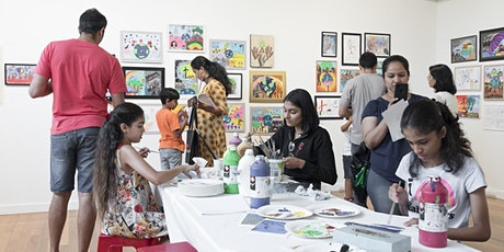 Spring School Holidays: Family art experience tickets