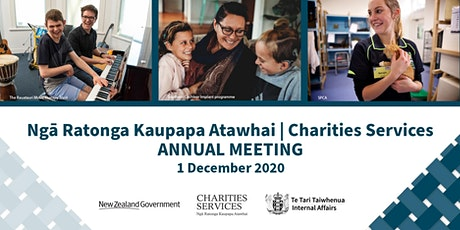 Charities Services Annual Meeting tickets
