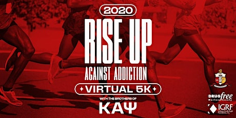 Rise up against addiction Virtual 5K tickets