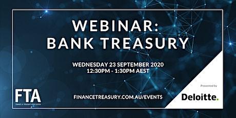 Webinar: Bank Treasury tickets