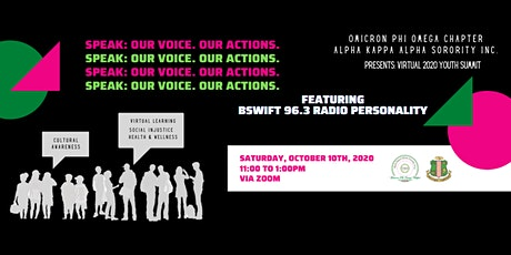Speak: Our Voices. Our Actions. Omicron Phi Omega 2020 Youth Summit tickets