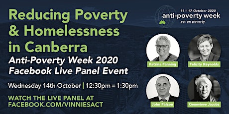 Reducing Poverty & Homelessness in the ACT tickets