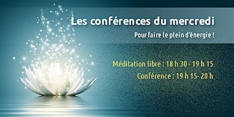 Conférence du mercredi billets