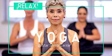 Age 60+ Yoga (Yo-Gong) Class - Bilingual Eng/Esp tickets