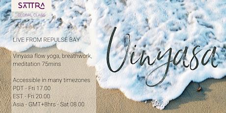 SATTRA Global Class Vinyasa Yoga on the Beach Fri / Sat tickets