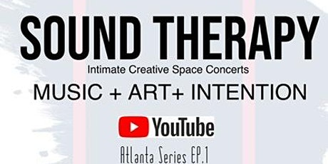 SoundTherapy intimate creative concert experience tickets