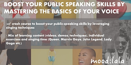 Boost your public speaking skills by mastering the basics of your voice tickets