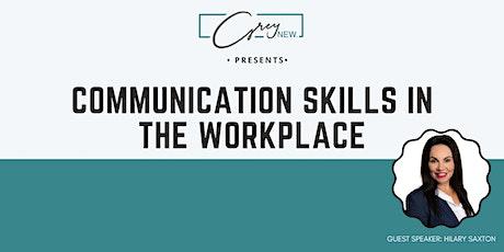 Communication Skills 3-hour Workshop tickets