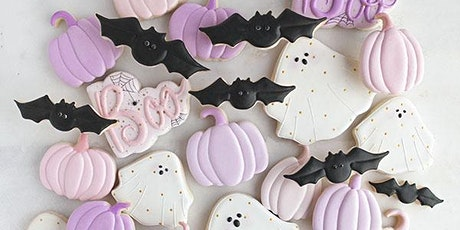 Pretty in Pink Halloween Cookies – Cooking Class tickets