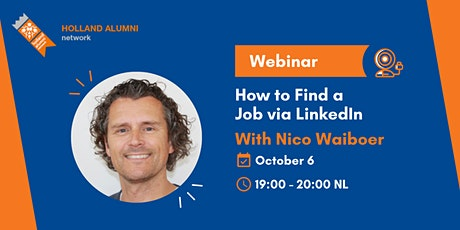 Webinar: How to Find a Job via LinkedIn tickets