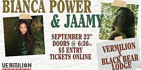 Bianca Power & Jaamy tickets