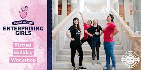 Enterprising Girls Virtual Holiday Workshop: Future of Fashion tickets