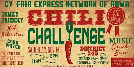 CYFEN's 4th Annual Chili Challenge tickets