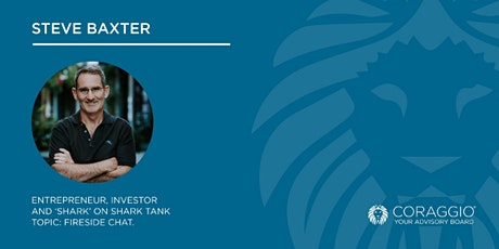 Fireside Chat with Steve Baxter - 25 September tickets