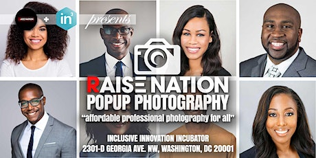 PopUp Photoshoot (Affordable Professional Photography) by Raise Nation tickets