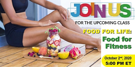 Food for Life: Food for Fitness tickets