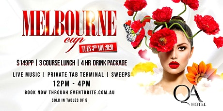 Melbourne Cup at The QA Hotel tickets