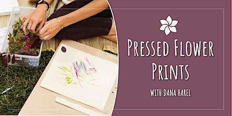 Pressed Flower Prints tickets