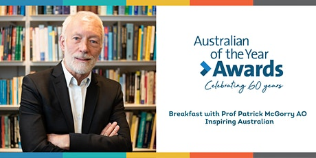 Inspiring Australians Breakfast with Professor Patrick McGorry AO tickets