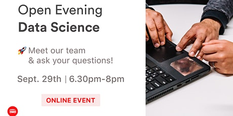 Data Science Open Evening - Le Wagon tickets