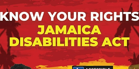 Know Your Rights Jamaica Disabilities Act tickets