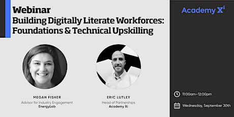 Building Digitally Literate Workforces: Foundations & Technical Upskilling tickets